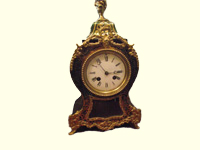 Boulle French mantle Clock circ 1870