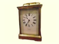 French Repeater Carriage Clock circ 1880.