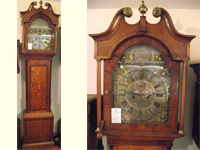 Georgian 8 day brass dial longcase by William Stanford of Yarmouth.